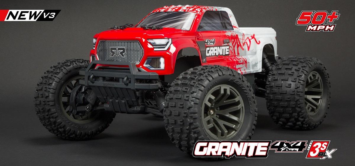 Arrma Granite 4X4 3S BLX 1:10 4WD RTR