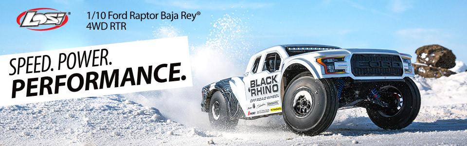 Losi Ford Raptor Baja Rey 1:10 RTR