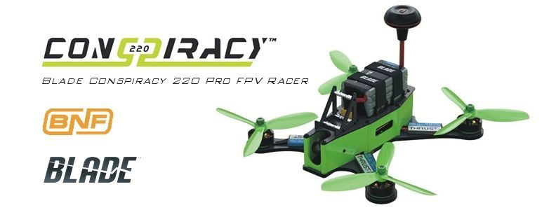 Blade Conspiracy 220 Pro FPV Racer BNF Basic