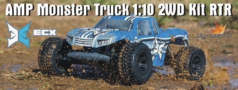 ECX AMP Monster Truck RTR 1:10