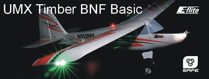 E-flite UMX Timber BNF Basic