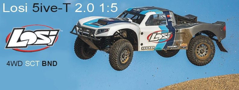 Losi 5ive-T 2.0 1:5 4WD SCT BND