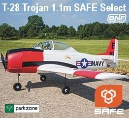 T-28 Trojan 1.1m SAFE Select BNF Basic
