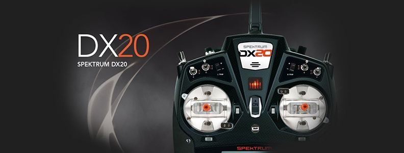 Spektrum DX20 DSMX Mode 1-4, AR9020