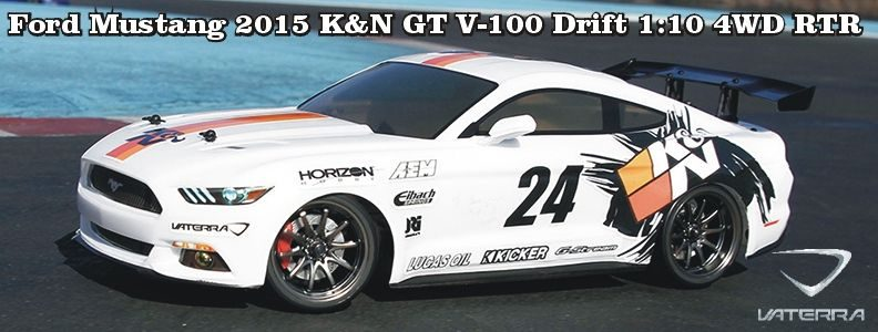 Ford Mustang KN V100-S RTR 1:10