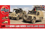 Airfix military British Forces Land Rover Twin set (1:48)