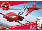 Airfix Red Arrows 50 Display Season (1:48)