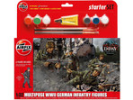Starter Set figurki German Infantry Multi-Pose 1:3