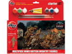 Airfix figurki WWII British Infantry Multipose (1:32)(set)