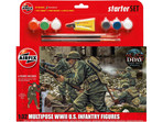 Airfix figurki WWII U.S. Infantry Multipose (1:32) (set)