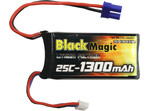 LiPol Black Magic 7.4V 1300mAh 25C EC3