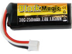 LiPol Black Magic 7.4V 250mAh JST-PH