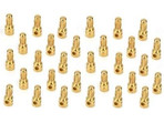 Bulk BL Connector, Male, 3.5mm, Gold (30)