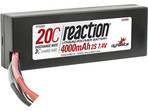 LiPol Reaction Car 7.4V 4000mAh 20C HC EC3