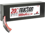 LiPol Reaction Car 7.4V 5000mAh 20C HC EC3