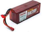 LiPol Reaction Car 15.2V HV 5000mAh 4S 50C Deans