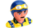 1/9 Pilot. with Helmet & Goggles