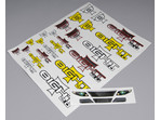 Team Losi Large Decal Sheet: 8T 2.0