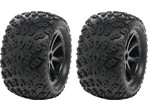 "Koło uniw. 4.0"" Dirt Crusher / XD Buggy czarne (2)"