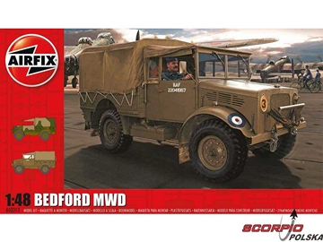 Airfix military Bedford MWD Light Truck (1:48) / AF-A03313