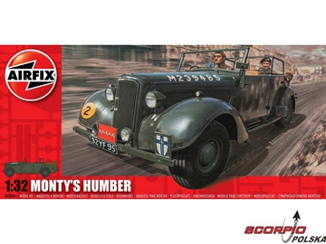 Airfix military Monty´s Humber Snipe Staff Car (1:32)