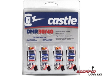 Castle regulator DMR 30/40 multirotor (4szt)
