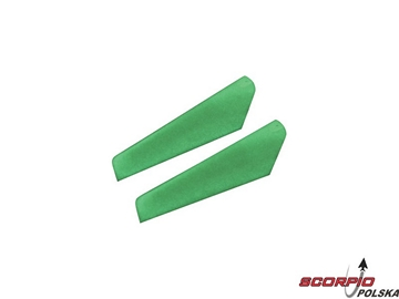 GlowInTheDark Main Rotor Blade Set w/Hardware:BMSR