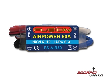 Regulator AirPower FB 26.4g 50A 5~12ogniw 2~4LiPol