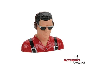 1/5 Pilot.Civilian w/Headphones&Sunglasses (Red)