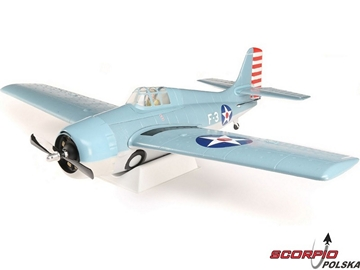 F4F Wildcat 1.0m BNF Basic AS3X, SAFE Select
