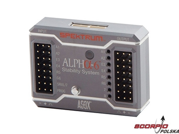Spektrum System stabilizacji Alpha-6 AS3X